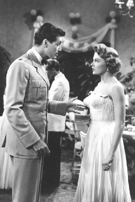 Rick Jason and Sheree North in The Lieutenant Wore Skirts